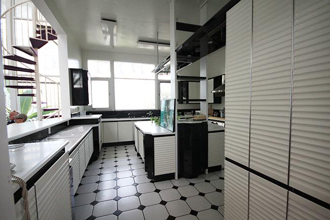 Kitchen Cooking Area Inside Of Biosphere 2 Tucson Az